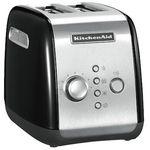 KitchenAid 5KMT221 – schwarzer 2 Scheiben Toaster für 79,99€ (statt 100€)