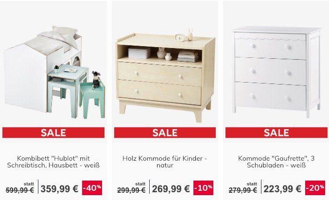 Vertbaudet Sale mit bis zu 60% Rabatt + keine Versandkosten + 10% Gutschein
