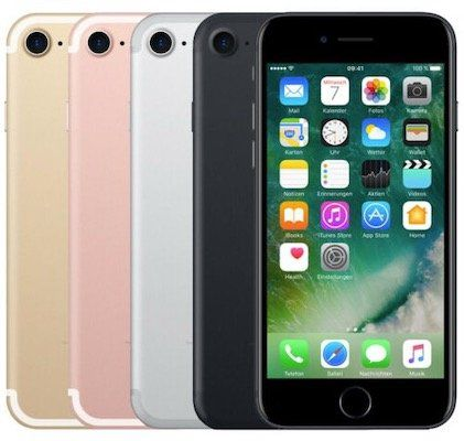 Apple iPhone 7 mit 128GB für 169,90€ (statt neu 311€)   gebraucht Ware