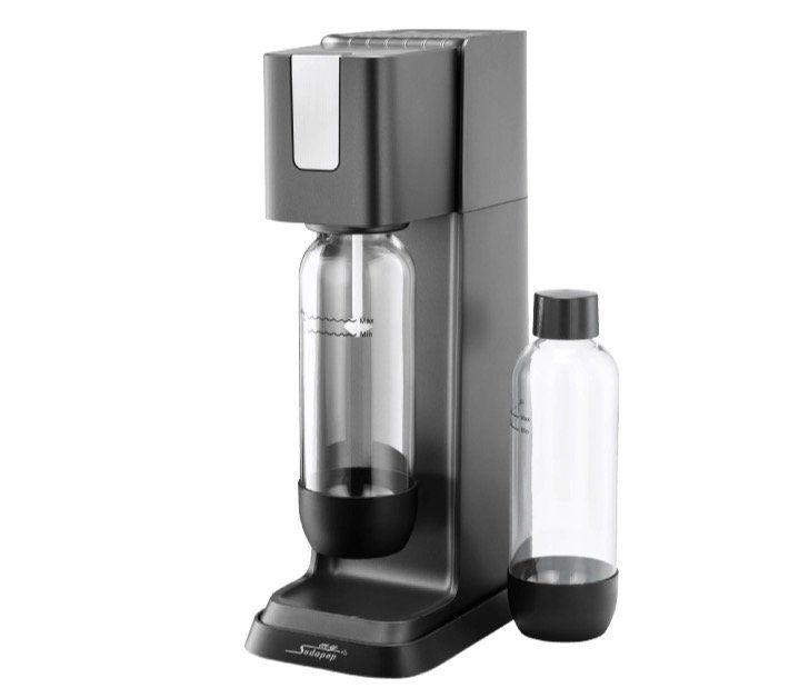 Ausverkauft! Mysodapop Jerry Wassersprudler + 2 PET Flaschen + CO2 Zylinder für 29€ (statt 55€)