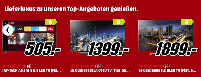Media Markt: Bis Morgen Lieferluxus für Haushaltsgroßgeräte ab 499€ für nur 19€ (Aufstellung und Anschluss)