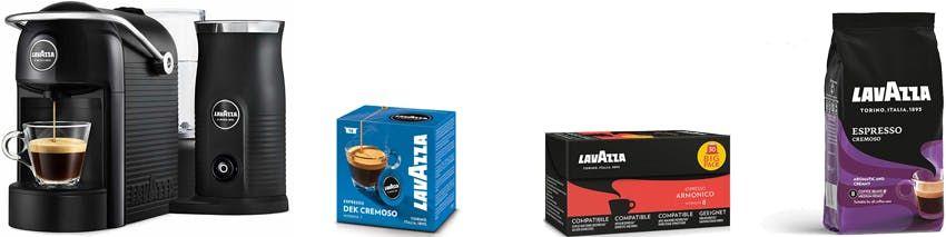 Black Week bei Lavazza   z. B. Lavazza Jolie & Milk für 99€ inkl. VSK