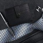 Arioj XC408B Leder-Geldbörse mit RFID Blocking für 6,40€ (statt 16€)