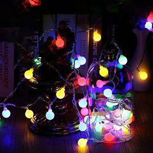 GreenClick Lichterkette mit 100 LEDs und mit Fernbedienung für 11,49€ (statt 23€)