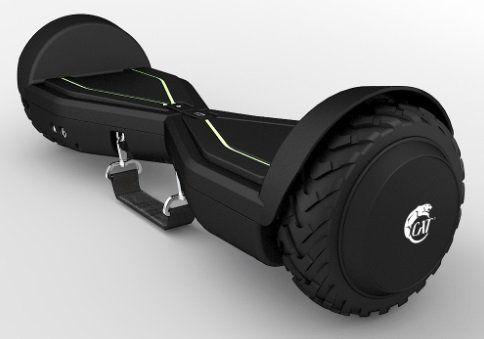 CAT 2DROID ACTIVE SCHWARZ Balance Board mit 15 km/h in schwarz für 111€ (statt 219€)