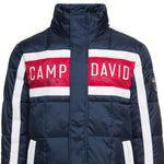 Camp David & Soccx bis 50% Rabatt ausgewählte Ware – z.B. Steppjacke mit Logo-Applikation 84,98€