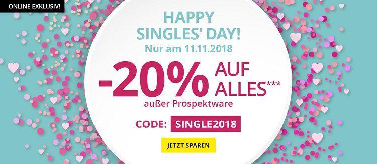 Takko Singles Day mit 20% Rabatt auf fast alles