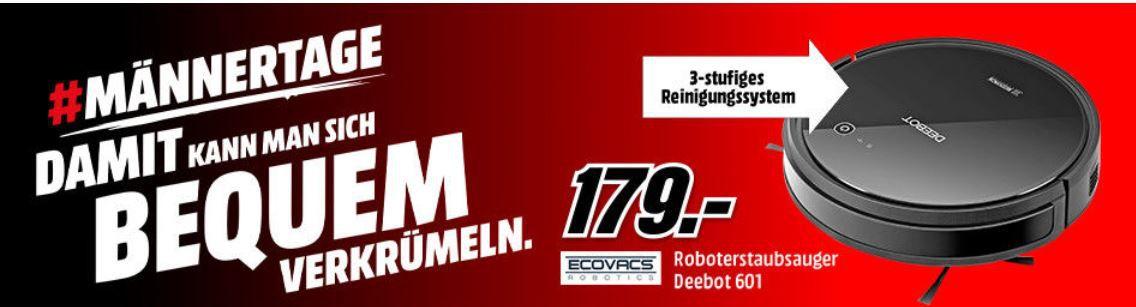 ECOVACS DEEBOT 601 Robotsauger  für 179€ (statt 225€)