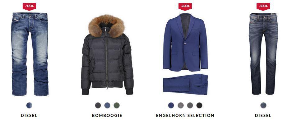 engelhorn mit 15% Rabatt auf fast Alles   z.B. s.Oliver Herren Anzug Cosimo Slim Fit für nur 85€ (statt 144€)