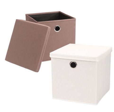 Echtwerk Rack   Falt  und Aufbewahrungsbox 4er Set für 19,99€ (statt 26€)