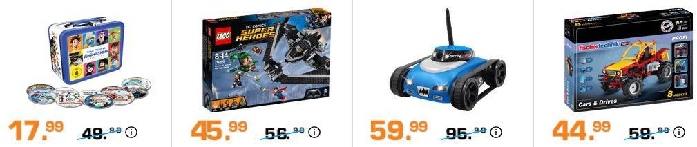 Saturn Entertainment Weekend Deals: z.B. JAMARA SpyVi Wifi Car Drohne für 59,99€ (statt 84€)   Tonie Hörfiguren ab 8,99€