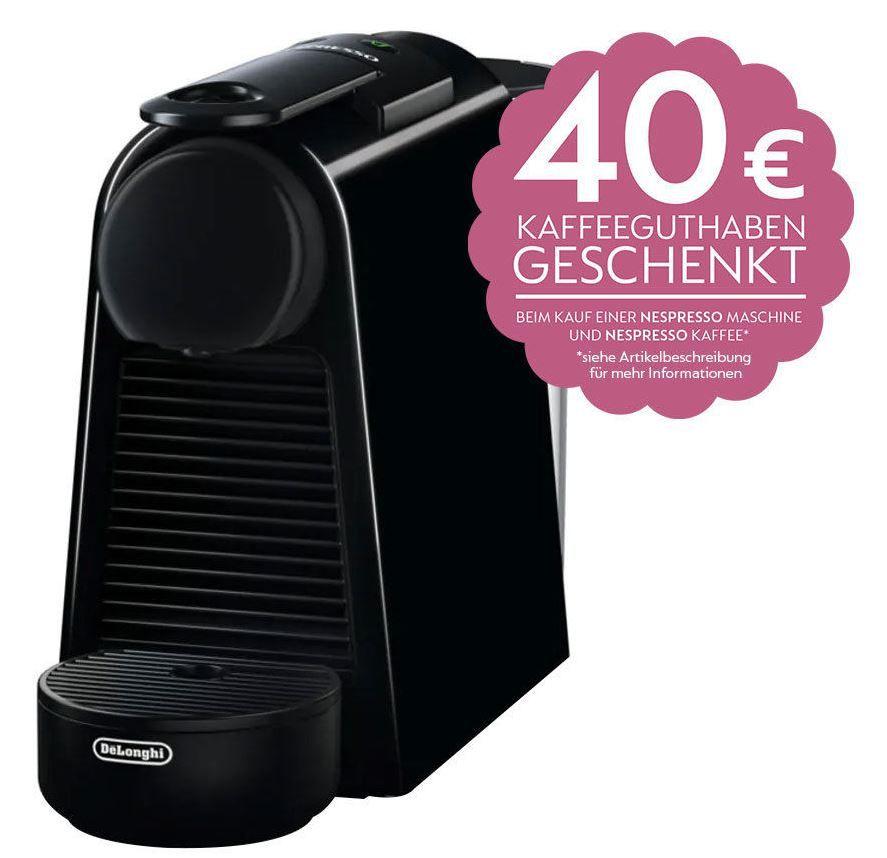 DeLonghi EN 85.B Essenza Mini   Nespresso Kapsel Maschine ab 44,10€ (statt 81€) + 40€ Kapselguthaben
