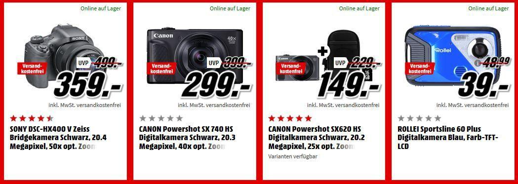 MM Top Foto Tiefpreiswoche: z.B.: FUJIFILM Instax Mini 9 Sofortbildkamera div. Farben für 59€ (statt 65€)