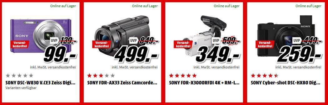 MM Top Foto Tiefpreiswoche: heute z.B.: Sony Alpha 6000 Systemkamera + Objektiv SEL P1650 (16 50mm) für 466€ (statt 547€)