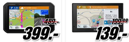 Media Markt Garmin Tiefpreisspätschicht: günstige Smartuhren & Navis z. B. GARMIN Vivofit 3 Fitness Tracker für 39€ (statt 49€)
