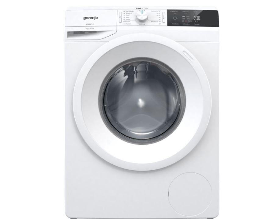 GORENJE WE743P Waschmaschine (7 kg, 1400 U/Min., A+++) für 259€ inkl. Gratis Lieferung