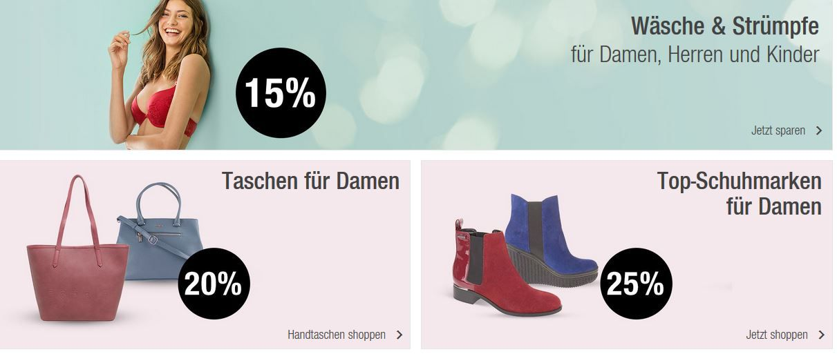 Galeria Kaufhof Sonntagsangebote   20% Rabatt auf ausgewählte Uhren, Ski Fashion, Haushalts  u. Backartikel