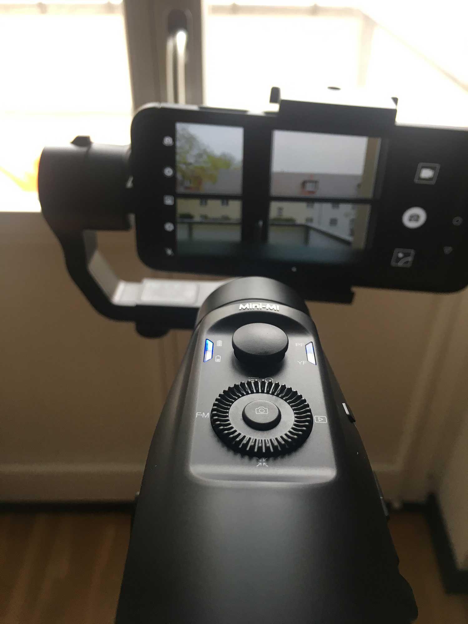 Test des MOZA Mini MI Smartphone Gimbal