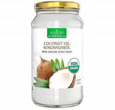 Anjou Kokosöl naturbelassen, kaltgepresst und nativ für 12,99€ (statt 17€)
