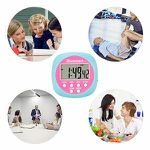 Blusmart Digitaler Küchentimer mit Countdown-, Count-Up- und Uhren-Funktion (Doppelpack) für 3,85€ (statt 11€)