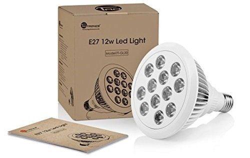 TaoTronics TT GL20   LED Pflanzenlampe mit 12 Watt für 19,99€ (statt 27€)