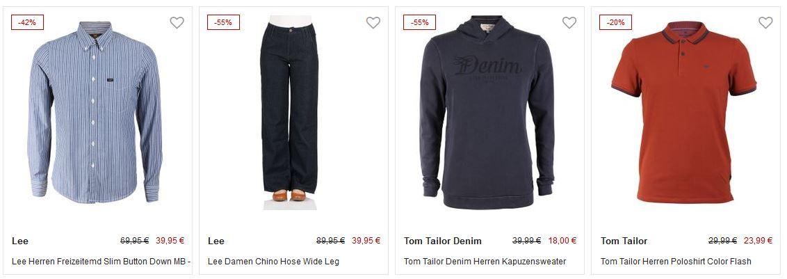 Jeans Direct: 30% extra Rabatt im Sale (MBW 40€)