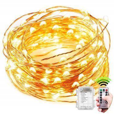 KEFU 10m wasserdichte Lichterkette mit 100 LEDS und 8 Modi für 8,99€ (statt 12€)