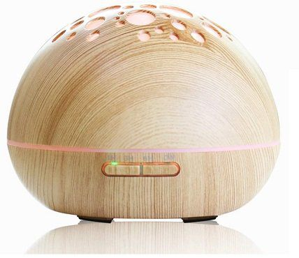 VDROL Aromadiffusor und Luftbefeuchter in Holzoptik für 20,16€ (statt 36€)