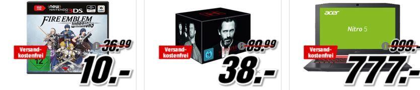 Dr. House   Staffel 1   8 [DVD] statt für 38 (statt 58€) uvm. im Media Markt Dienstag Sale