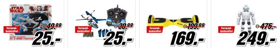 UBTECH ROBOTICS C1250 Alpha 1S Roboter für 249€ (statt 454€) uvm. im Media Markt Dienstag Sale