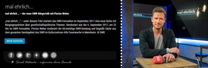 Freikarten für Mal ehrlich... an verschiedenen Terminen im November/Dezember (Mannheim)