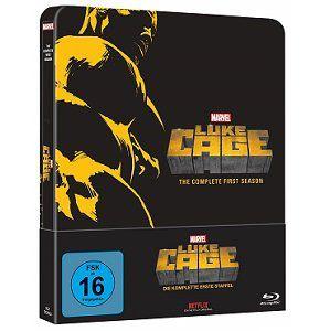Marvels Luke Cage   Staffel 1 als Blu ray Steelbook für 29€ (statt 33€)