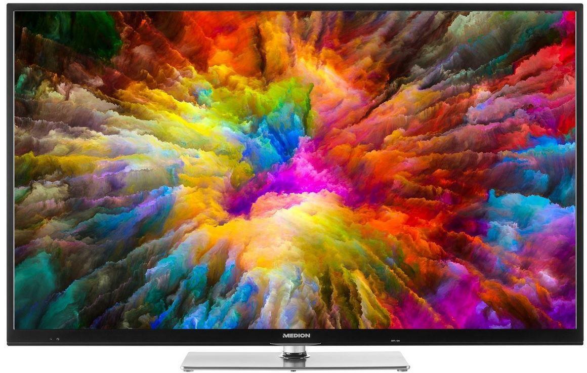 MEDION X14321   55 Zoll Smart UHD TV  mit triple Tuner für 399,99€ (statt 479€)