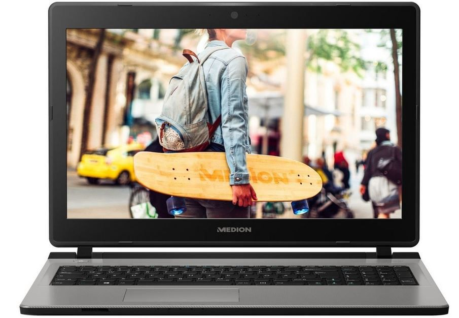 MEDION MD 61186   15.6 Notebook mit i3, 1TB + 128GB SSD für 333€