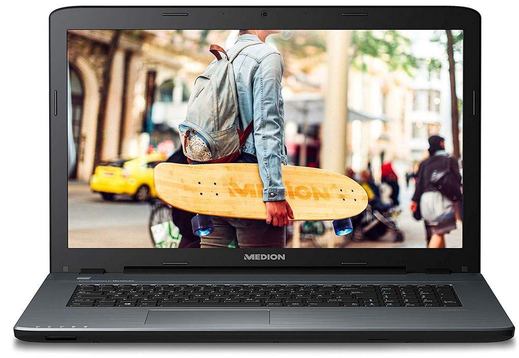 MEDION AKOYA P7653   17,3 Notebook mit i7 16GB RAM 256 GB SSD 1.5 TB HHD für 749€ (statt neu 854€)