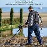 Meterk Metalldetektor MK14 für Gold, Silber und andere Metalle für 51,99€ (statt 80€) – Prime
