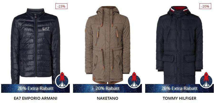 Top! Peek & Cloppenburg* 20% extra Rabatt auf Marken Jacken, Mäntel & mehr bis Mitternacht