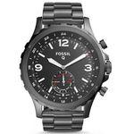 Fossil Q Nate 🔥 Knaller: Hybrid Smartwatch in Edelstahl 50mm für 82,88€ (statt 160€)