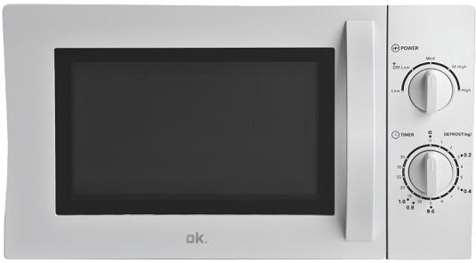 OK. OMW 1221 W Mikrowelle (700 Watt) für 39€ (statt 47€)
