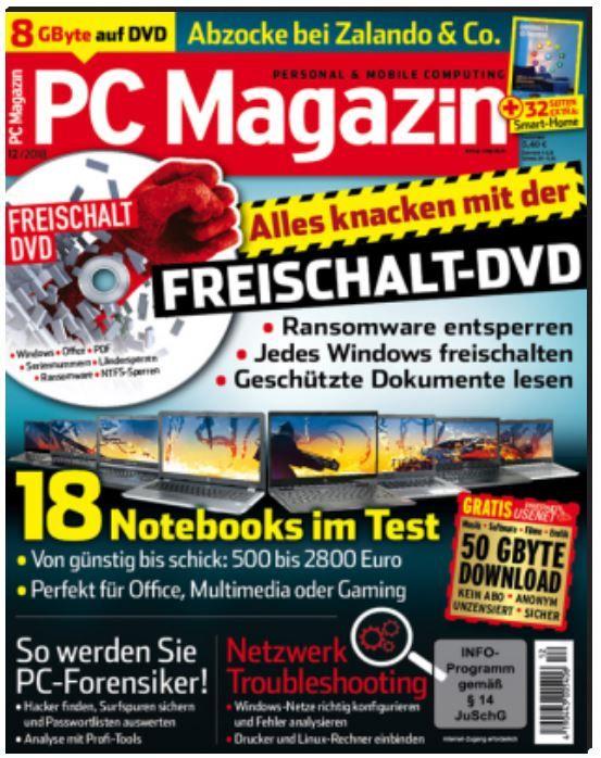 TOP! PC Magazin Classic DVD XXL   Jahresabo statt 78,60€ für nur 24,95€