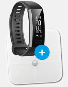 TOP! Huawei P20 lite Dual SIM + Huawei Band 2 Pro + Körperfettwaage AH100 für 4,95€ + Otelo AllNet Flat + 5GB Daten  für 19,05€