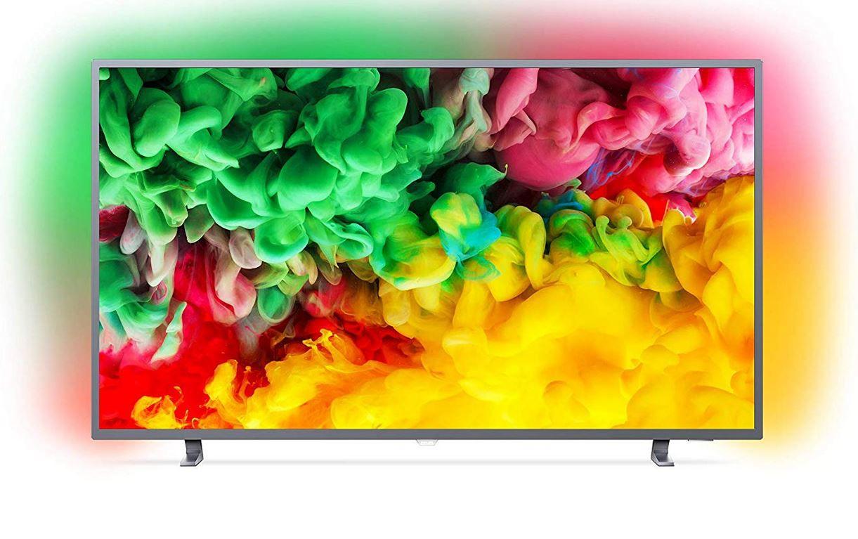 PHILIPS 50PUS6703/12   50 Zoll UHD Smart TV mit Ambilight für 444€ (statt 506€)