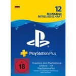 Playstation Plus 12 Monate ab 38,24€ (statt 52€)