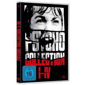 Psycho Collection   Psycho I   IV auf DVD für 8€ (statt 12€)