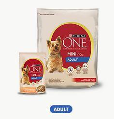 Purina One Mini Adult Hundefutter Proben gratis anfordern