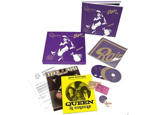 Queen   Live At The Rainbow (Limited Super Deluxe Boxset) für 79,99€ (statt 92€)