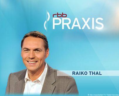 Freikarten für rbb PRAXIS an verschiedenen Termine im Dezember (Berlin)