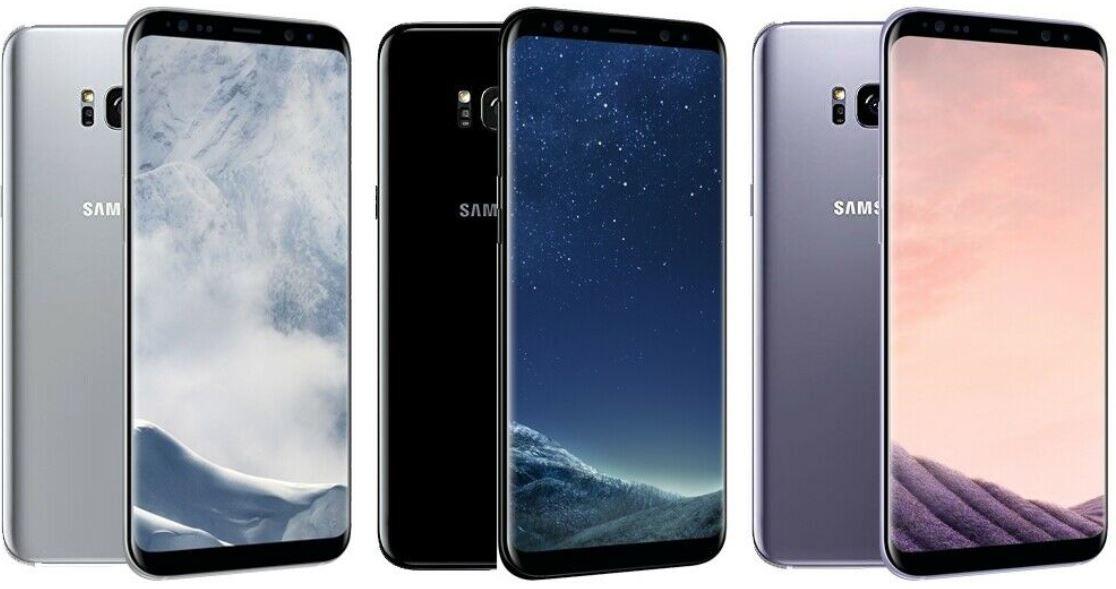 Samsung Galaxy S8 mit 64 GB für 165,60€ (statt neu 399€) gebraucht