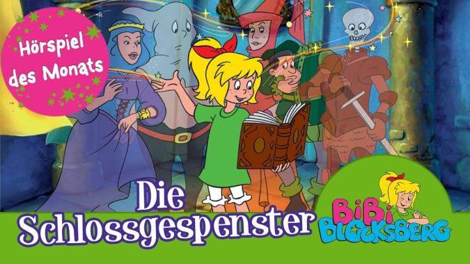 Bibi Blocksberg – Die Schlossgespenster (Folge 8, Hörspiel) kostenlos
