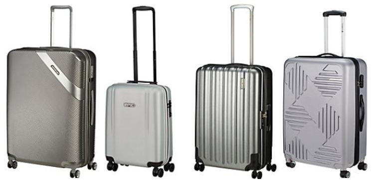Koffer Direkt mit 15% Extrarabatt auf alle Koffer etc. in der Farbe Silber